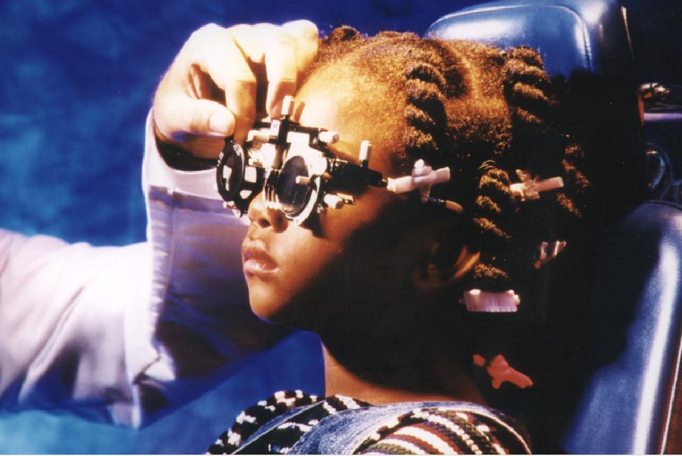 Child Eye Exam AOA