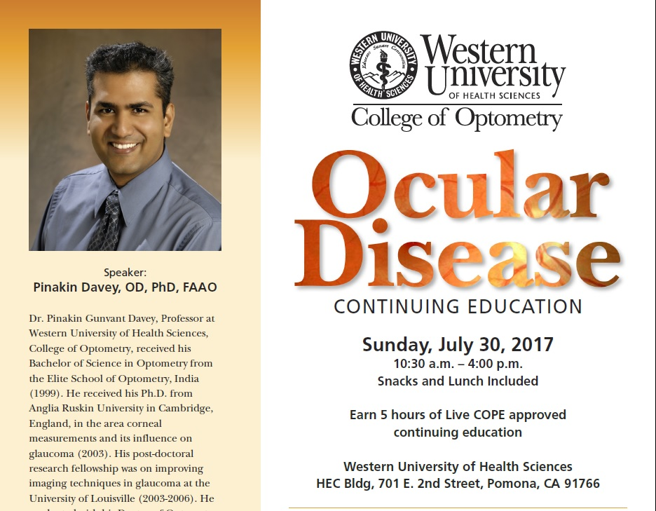 Ocular Disease Continuing Education