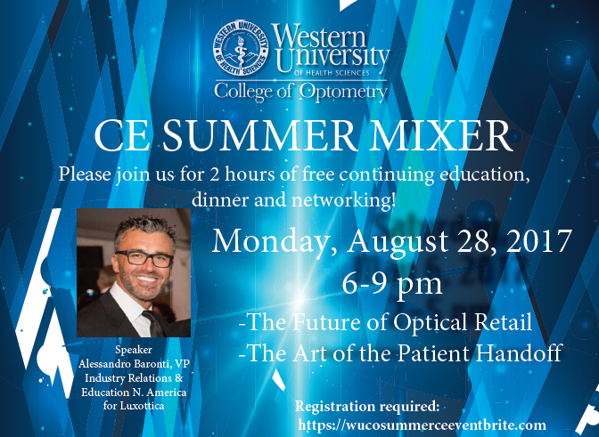 Free Continuing Education Event and Dinner Mixer