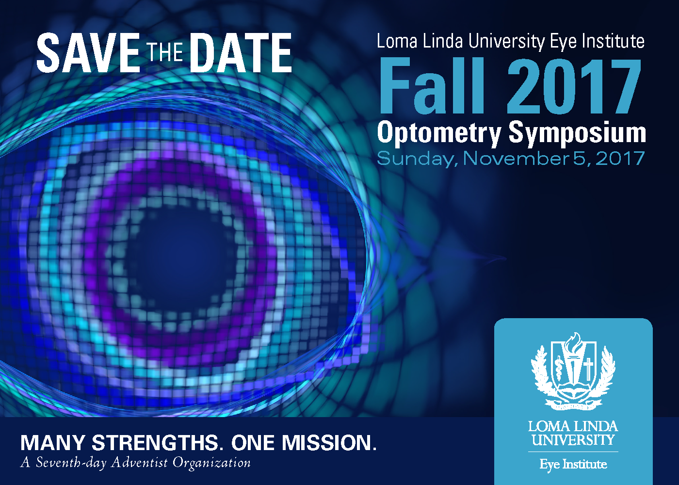 Loma Linda University Eye Institute Fall CE!