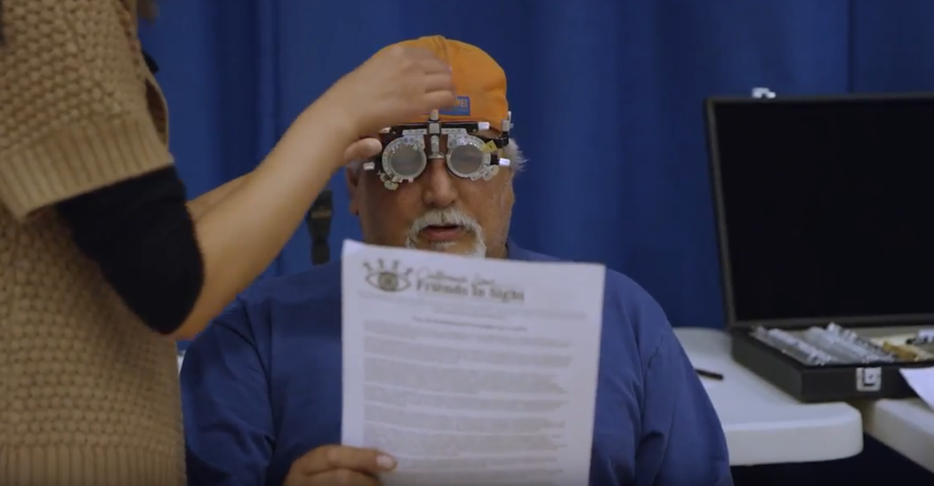California Lions Friends in Sight 2017 Vision Screenings